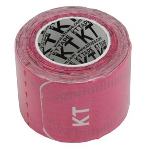 KT TAPE PRO(KTテーププロ) ロールタイプ 15枚入り ピンク (キネシオロジーテープ テーピング)
