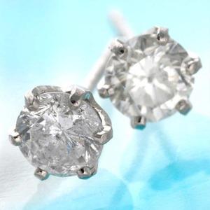 0.5ct ダイヤモンドピアス プラチナピアス