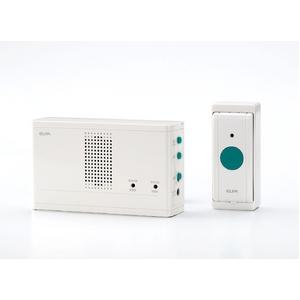 ELPA ワイヤレスチャイム押しボタンセット EWS-1001