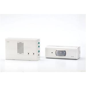 ELPA ワイヤレスチャイムセンサー送信器セット EWS-1003