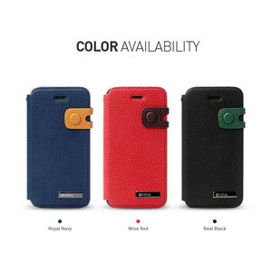 ★iPhone5★iPhone5 Masstige Color Edge Diary (mold type) Z1400i5 Royal Navy