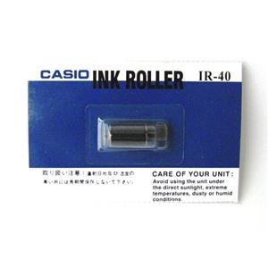 (業務用セット) カシオ レジスター用消耗品 電子レジスター用 インクローラー IR-40 黒 1個入 【×3セット】