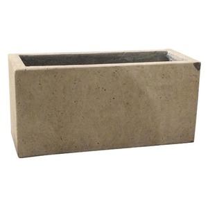 軽量コンクリート製植木鉢 フォリオ プランター クリーム 37cm